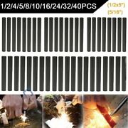 Lot 1/2x5and039and039 N 5/16 Outdoor Camping Fire Striker Magnesium Ferrocerium Rod Flint