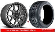 Alloy Wheels And Tyres 19 Rotiform Zmo-m For Jeep Compass [mk1] 06-16