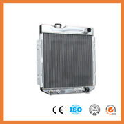 Aluminum Radiator For Ford Mustang Comet Falcon V8 63-66 3 Row 62mm At Mt 259b