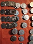 Kennedy Half Dollar Coins Lots Of 10 From 1971-2001