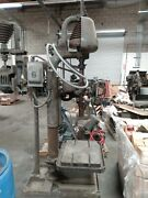 """Canedy Otto D2450 Drill Press 20"""" Heavy Duty With Phase Converter And Power Feed"""