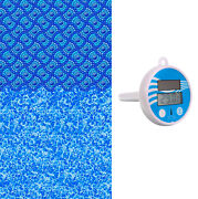 24' Round Monterey Above Ground Overlap Swimming Pool Liner W/ Thermometer