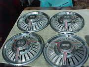 1965 Chevelle Malibu Ss And 1966 Chevy Ii Nova Ss Spinner Full Hubcaps Nice Used