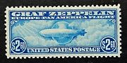 Us Stamps Scott C15 1930 Airmail Blue 2019 Psag Gc Xf/sup 95 M/nh. Gorgeous