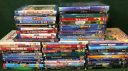 Huge 50 Disney Dvd And Blu Ray Lot Frozen Toy Story Lion King Finding Nemo +new
