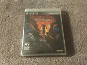 Resident Evil Ps3 Lot Of 5 Operation Raccoon Res 5 And 6 Rev 1 And 2