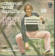 45 Rpm 2 Tracks/jimmy Frey Une Pink For Sandra A1