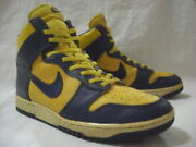 Nike Dunk High Michigan 1985 Vintage 851012 Ty1 Size Us 11 Without Box