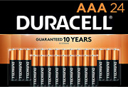 Duracell - Coppertop Aaa Alkaline Batteries - Long Lasting, All-purpose Triple A