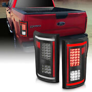 Anzo 311286 Black Smoke Lens Led Tail Lights G2 For 15-17 Ford F-150