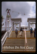Orig 35mm Slide View W Gondola Ride And Stairway @ 1984 Louisiana World Exposition