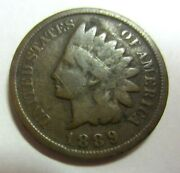 1889 Indian Head Penny / This Is The One You Will Receive / 122
