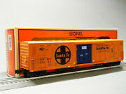 Lionel Santa Fe Smoking 57and039 Mechanical Reefer O Gauge Rolling Stock 2026480 New