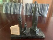 Stanley Bleifeld Signed And Numbered Bronze Sculpture Of Father Michael J Mcgivney