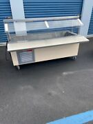 Refrigerated Table Salad Bar Frost Top Shrimp Sushi Display Counter