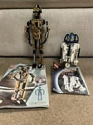 Lego Star Wars Sets 8007 And 8009 Technic C-3po And R2-d2