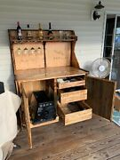 Mobile Grilling And Bar Station Handmade For Deck Patio Or Dock