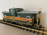Usa Trains 12111 Bnsf Extended Vision Caboose W/lights G-scale