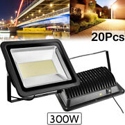 20x 300w Led Flood Light Warm White Camping Outdoor Lighting Security Wall Lamp