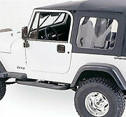 Rampage 68035 Complete Top Frame And Hardware 87-95 Jeep Wrangler With Full Stee
