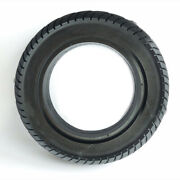 1 X Rubber Electric Scooter Solid Tire 10x2.50 Air Free Rear Wheel Motor Tyre