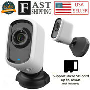Camera Wifi 1080p Wireless Indoor Outdoor Security Ai Detection Siren For Home