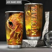 Personalized Lion King Motivation Tumbler Cup Gift For Lion Lover