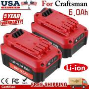 6.0ah Lithium Battery / Fast Charger For Ryobi 40v Op4050 Op40602 Power Tools Us