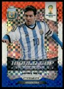 2014 Panini Prizm World Cup Stars Red White And Blue Prizm 1 Lionel Messi