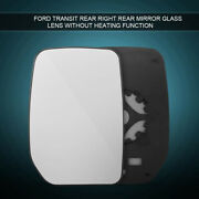 Right Hand Driver Side Heated Wing Door Mirror Glass For Ford Transit Mk8 14-18