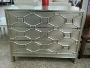 World Views Greenbriar Chinese Chippendale Metal Clad 3 Drawer Chest