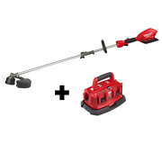 Cordless Brushless String Trimmer Fuel 18v Lithium-ion W/ Attachment Capability
