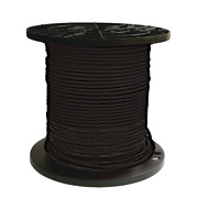 Southwire 8 Black Stranded Cu Simpull Thhn Wire 1000 Ft.