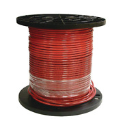 Southwire 8 Red Stranded Cu Simpull Thhn Wire 1000 Ft.