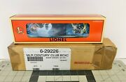 """'97 Lionel 6-29226 """"century Club Edition Boxcar"""" - New Old Stock - Berkshire 726"""