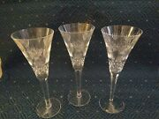Waterford Crystal Millennium Collection Prosperity Toasting Flutes 3