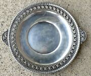 C.1930 Scarce Large Wallace Nordic Pattern Sterling Silver Serving Tray 682g