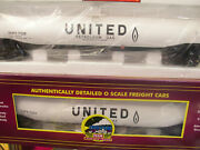 Brand New 2 Pack Mth 20-96807 United 33k Gallon Tank Cars Premier O Scale 0-42