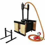 Simond Store Blacksmithing Forge Double Burner With Two Side Brick Door, 2600f