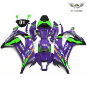 Ms Injection Molding Fairing Fit For Kawasaki 2011-2015 Zx 10r Purple Abs Y013