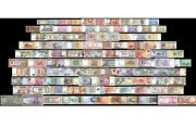 100 Peices Of Different World Mix Foreign Banknotescurrency Uncirculated
