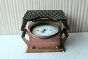 Vintage German Weight Scale Antique Iron Collectible Old Housewares Scale Bq-84