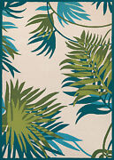 Couristan Covington 8and039 X 11and039 Rectangle Area Rugs In Ivory/forest Green