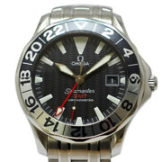 Omega Seamaster Gmt 50 Anniversary Ref. 2234.50 Automatic Black Dial