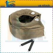 1x Titanium T3 Turbo Heat Shield Barrier Turbocharger Cover Wrap With Fasteners