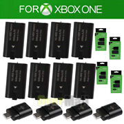 4/8xfor Xbox One Controller Rechargeable Battery Pack With Usb Charger Dock Kits