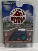 Rare 1982 Ford 5610 With Front Loader Down On The Farm 164 Greenlight 48040c