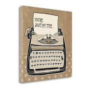 Tangletown Fine Art Youre My Type Taupe By Mary Urban Wall Art Wa620959-2020c