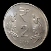 A 2012 Indian 2 Rupees Collectible Coin