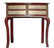 Indian Handmade Brass Fitted Beautiful Sideboard Cabinet With Drawer Storage